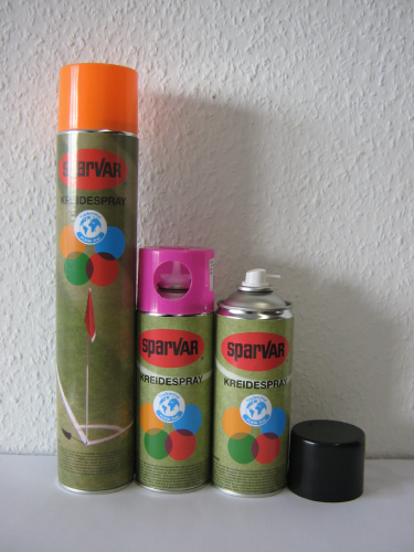 Kreidespray 400ml: Gelb